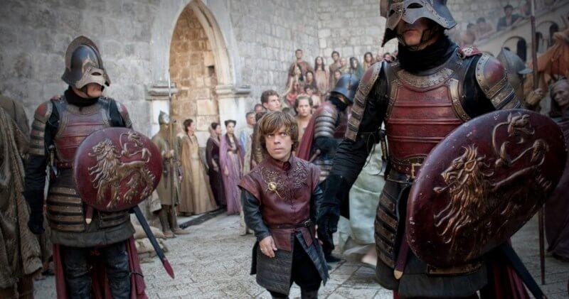 King's Landing Riots scene, Pile Gate