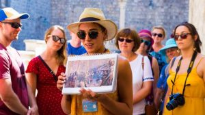 Dubrovnik Walking Tours guide photo on tour
