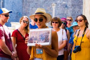 Dubrovnik Walking Tours guide photo on tour