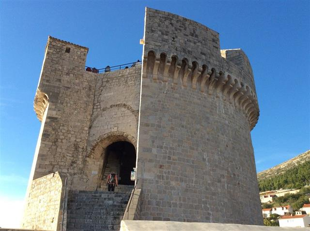 Minčeta fort, one of 5 forts of Dubrovnik City Walls