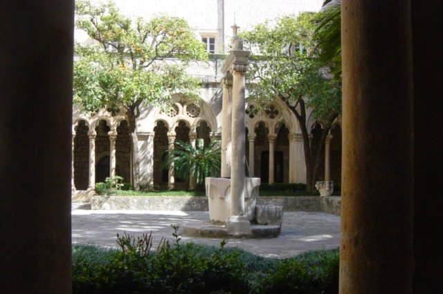 Franciscan monastery atrium